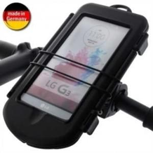 Waterproof Fahrrad Motorrad  Box L + Bikemount für Lenkstange für Geräte bis 160 x 87 x 13,7 mm