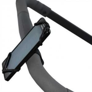 """XiRRiX Silikon Fahrrad Halterung für Lenkstange - für Smartphones Display 4"""" (10,2cm) - 5.9"""" (15cm)"""