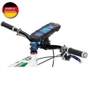 Waterproof Fahrrad Motorrad  Box L + Bikemount für Lenkervorbau f. Geräte bis 160x87x13,7 mm