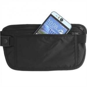 XiRRiX Kamera Kompaktkamera Tasche Bauchtasche aus Nylon - extra Fach - Innen 114 x 69 x 35,5 mm -  schwarz