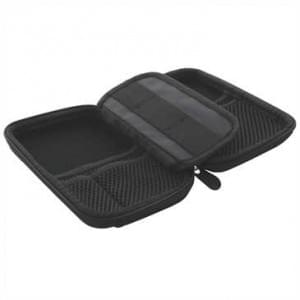 Anti Schock EVA Tasche - Nylon - Festplatten, SSD, Flash Drive - Innenmaß: 150 x 90 x 29mm - schwarz