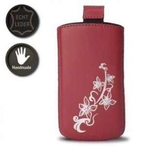 Valenta Pocket Lily 14 - Rot - 648082 - Echt Leder Tache - Easy-Out-Band