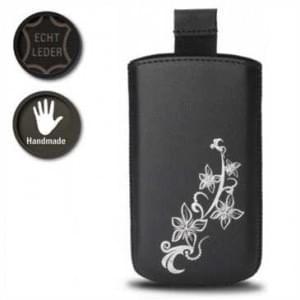 Valenta Pocket Lily 20 - Black - 413259 - Echt Leder Tache - Easy-Out-Band - schwarz