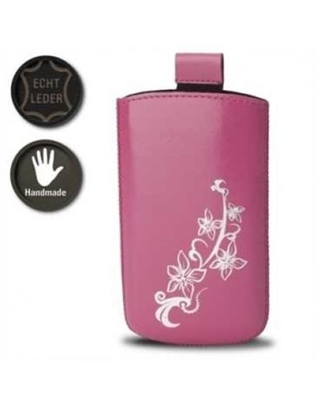 Valenta Pocket Lily 20 - Pink - 413266 - Echt Leder Tache - Easy-Out-Band