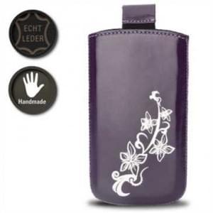 Valenta Pocket Lily 20 - Violet - 413297 - Echt Leder Tache - Easy-Out-Band