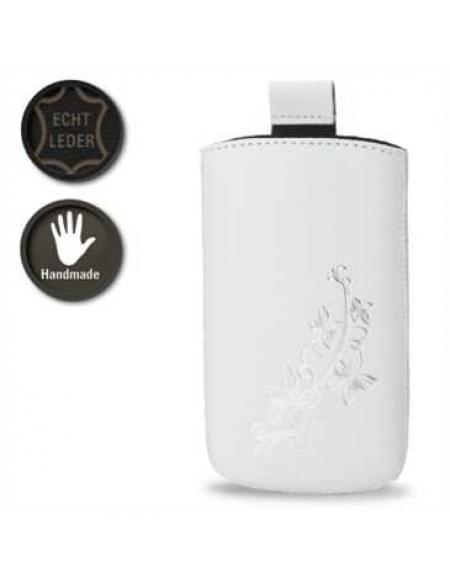 Valenta Pocket Lily 20 - White - 413303 - Echt Leder Tache - Easy-Out-Band