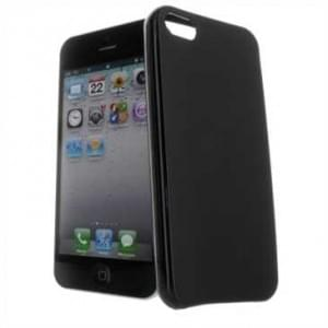 Premium Quality TPU Silikon Hülle Tasche für Apple iPhone SE, iPhone 5S, iPhone 5 - Schwarz