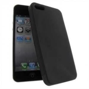 Premium Quality TPU Silikon Hülle Tasche for Apple iPhone SE, iPhone 5S, iPhone 5 - Schwarz Matt
