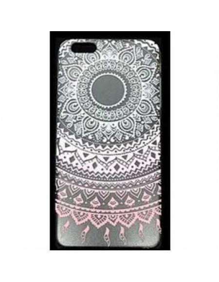 TPU Silicon Tasche mit Druck für Apple iPhone 7 - Design: Mandala