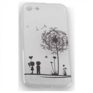 TPU Silicon Tasche mit Druck für Apple iPhone 7 / 8 - Design: Love