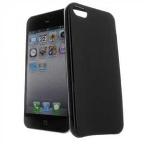 TPU Silicon Hülle / Tasche für Alcatel A5 LED - schwarz