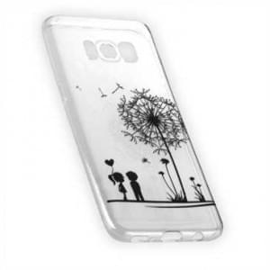 TPU Silikon Hülle Tasche mit Druck für Samsung Galaxy S8 - Design: Love