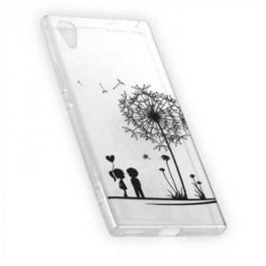 TPU Silikon Hülle Tasche mit Druck für Sony Xperia XA1 - Design: Love