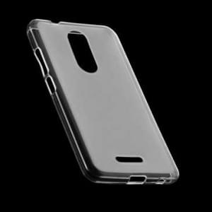 Transparente Silikon Tasche Foggy Clear für Wiko U Pulse - transparent