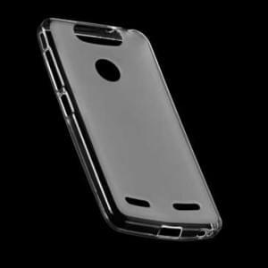 Transparente Silikon Tasche Foggy Clear für ZTE Blade V8 Mini - transparent