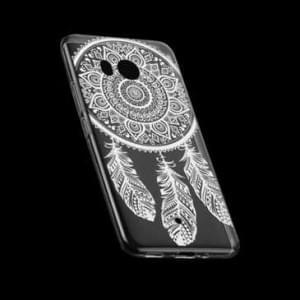 TPU Silikon Hülle Tasche mit Druck für HTC U11 - Design: Feder