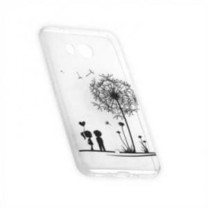 TPU Silikon Hülle Tasche mit Druck für HTC U11 - Design: Love