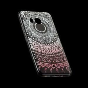 TPU Silikon Hülle Tasche mit Druck für HTC U11 - Design: Mandala