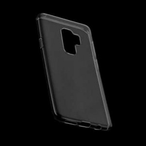 Ultra Slim TPU Case Tasche für Samsung Galaxy S9+ Plus transparent