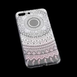 TPU Hülle Tasche mit Druck für Apple iPhone 8 Plus, iPhone 7 Plus - Design: Mandala