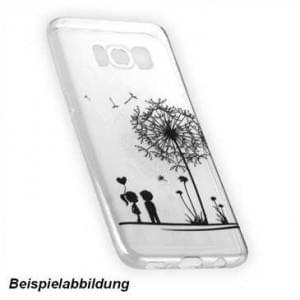 TPU Hülle Case Tasche mit Druck für Samsung Galaxy A8 (2018) - Design: Love