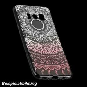 TPU Hülle Case Tasche mit Druck für Samsung Galaxy A8 Plus (2018) - Design: Mandala
