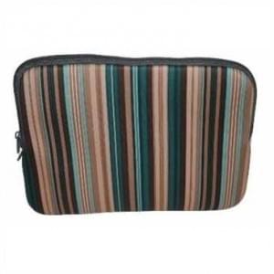 """XiRRiX Neopren Netbook, Notebook Tasche - bis 9,7"""" (24,6 cm ) - Design: Stripe - Farbig"""