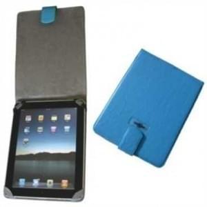 XiRRiX Kunstleder Tablet Tasche - passend für z.B.: Apple iPad 4G, iPad 3G, iPad 2G, iPad 1G - blau