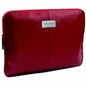 """Krusell Tablet PC Tasche Sleeve Luna bis 7"""" (17,8cm) - bis 200 x 140 x 12 mm - Rot / Creme"""