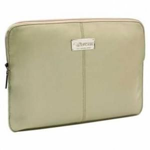 """Krusell Tablet PC Tasche Sleeve Luna bis 7"""" (17,8cm) - bis 200 x 140 x 12 mm - Creme Schwarz"""