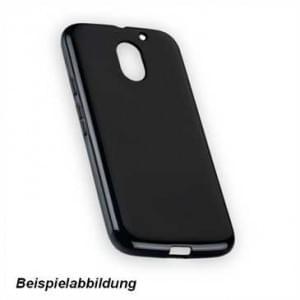 TPU Hülle Tasche für Motorola Moto E4 - schwarz
