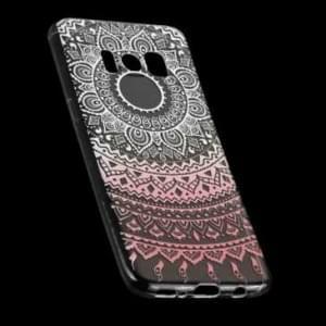 TPU Hülle Tasche mit Druck für Samsung Galaxy S8 - Design: Mandala