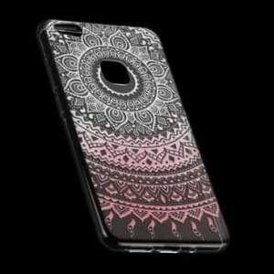 TPU Hülle Tasche mit Druck für Huawei P10 Lite - Design: Mandala
