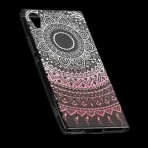 TPU Hülle Tasche mit Druck für Sony Xperia XA1 - Design: Mandala