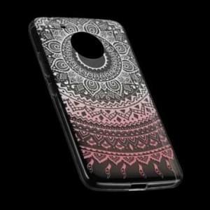 TPU Hülle Case Tasche mit Druck für Motorola Moto G5 - Design: Mandala