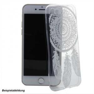 TPU Hülle Tasche mit Druck für Apple iPhone X - Design: Feder