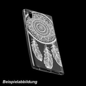 TPU Hülle Case Tasche mit Druck für Sony Xperia L2 - Design: Feder