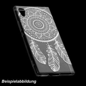 TPU Hülle Case Tasche mit Druck für Sony Xperia XA2 - Design: Feder