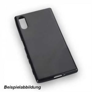 TPU Hülle / Case / Tasche für Sony Xperia XZ2 schwarz