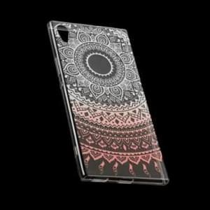 TPU Silikon Hülle Tasche mit Druck für Sony Xperia XA1 Ultra - Design: Mandala