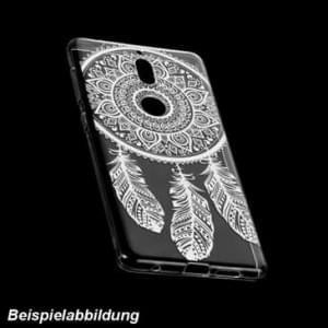 TPU Hülle Case Tasche mit Druck für Nokia 2 - Design: Feder