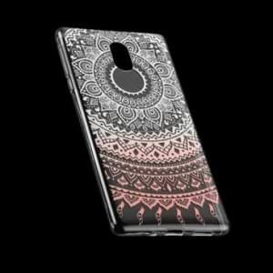 TPU Silikon Hülle Tasche mit Druck für Nokia 3 - Design: Mandala