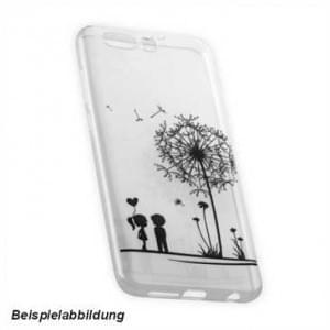 TPU Hülle Tasche für Huawei Y7 mit Druck - Design: Love