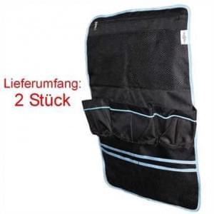 2er Set - XiRRiX Auto Utensilo Rücksitz Organzier für die Rückenlehne des Autositzes