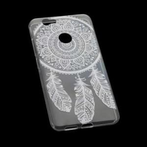 TPU Hülle Tasche für Huawei Nova mit Druck - Design: Feder