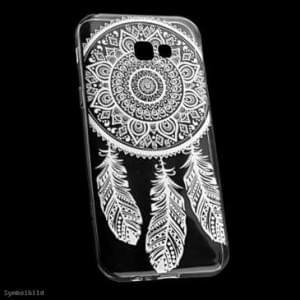 TPU Hülle / Tasche für Samsung Galaxy J5 (2017) - mit Druck Design: Feder