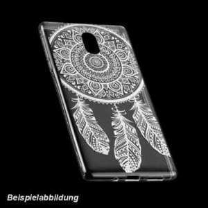 TPU Hülle Case Tasche für Nokia 5 - mit Druck Design: Feder