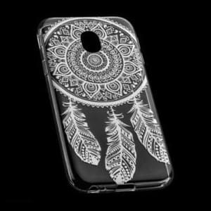 TPU Hülle Tasche für Samsung Galaxy J3 (2017) mit Druck - Design: Feder