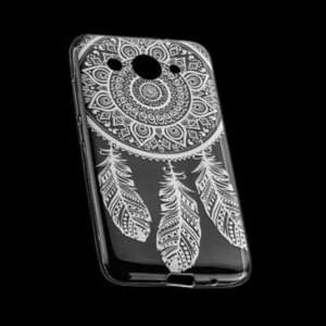 TPU Hülle Tasche für Huawei Y3 (2017) mit Druck - Design : Mandala
