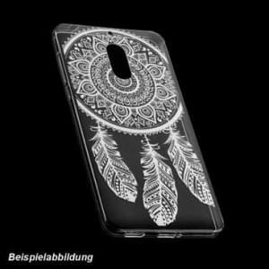 TPU Hülle Tasche mit Druck für Nokia 8 - Design: Feder